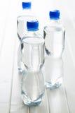 Малая пластичная бутылка воды Стоковое Фото