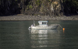 Малая рыбацкая лодка Стоковое Изображение