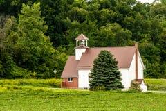 Малая сельская церковь Стоковая Фотография RF