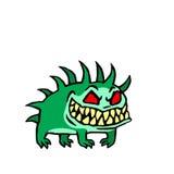 Малая собака от ада также вектор иллюстрации притяжки corel Стоковая Фотография RF