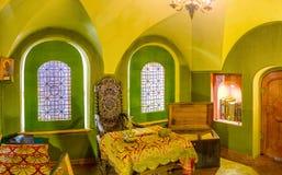 Малая средневековая библиотека Стоковые Фотографии RF