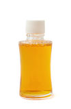 Малая стеклянная изолированная бутылка пробирки Стоковая Фотография