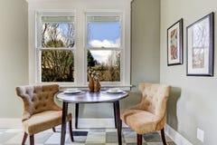 Малая столовая в комнате кухни Стоковое фото RF