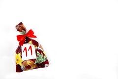 Малая сумка рождества Стоковые Изображения RF