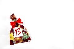 Малая сумка рождества Стоковое фото RF