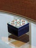 Малая украшенная коробка Стоковое Изображение