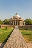 Малая усыпальница в Humayun Дели Индии Стоковое Изображение RF