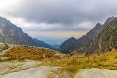 Малая холодная долина Ganek Стоковые Фото