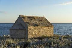 Малая церковь в Хорватии Стоковое Изображение RF