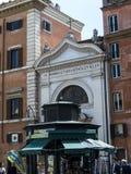 Малая церковь St Bartholomy в Риме Италии Стоковые Изображения RF