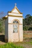 Малая часовня в долине dos Vinhedos Вейл стоковые фотографии rf