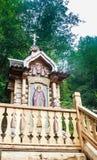 Малая часовня около источника святой воды Стоковое Фото