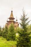 Малая часовня около источника святой воды Стоковые Изображения RF