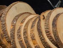 Малая часть отрезанных деревянных журналов Стоковые Фотографии RF