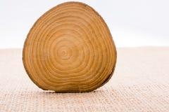 Малая часть отрезанных деревянных журналов Стоковая Фотография RF