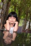 Маленькая азиатская девушка стоковое фото
