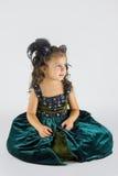 Маленькая дама стоковое фото rf