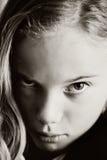 Унылая девушка стоковые изображения