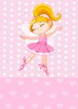 Маленькая белокурая принцесса Стоковое Изображение