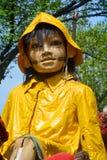 Маленькая гигантская девушка Стоковое Изображение RF