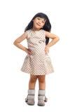 Маленькая девочка азиата моды стоковые изображения rf