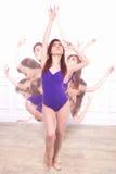 Маленькая девочка, балерина Стоковые Изображения RF