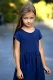 Маленькая девочка в лете Стоковая Фотография