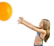 Девушка в swimsuit Стоковые Фотографии RF