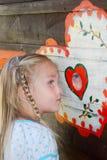 Маленькая девочка лета Стоковое фото RF