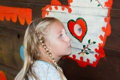 Маленькая девочка лета Стоковые Изображения RF