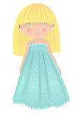 Маленькая девочка моды Стоковая Фотография RF