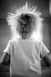 Маленькая девочка счастлива и играть Стоковые Фотографии RF