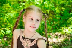 Маленькая девочка Стоковые Изображения RF