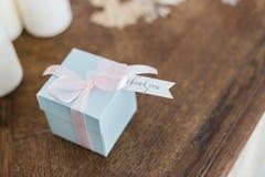 Маленькая коробка с подарком Стоковые Фотографии RF