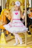 Маленькая красивая девушка стоковые фотографии rf