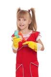 Маленькая домохозяйка Стоковое Изображение RF