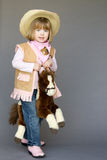 Маленькая пастушка Стоковые Изображения RF