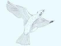 Маленькая птица Иллюстрация штока