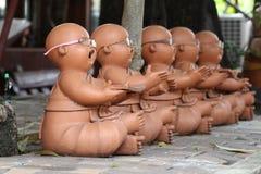 Маленькая скульптура Будды Стоковые Фото