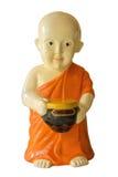 маленькая статуя монаха Стоковое Фото