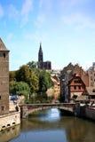 Маленькая страсбург Франция Франции, Эльзас Стоковая Фотография RF