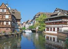 Маленькая Франция, страсбург, Эльзас, Франция стоковые фото