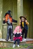 маленькие ведьмы Стоковые Фото
