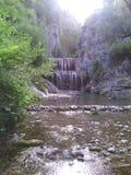 маленькие водопады Стоковое Изображение