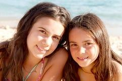 Маленькие девочки стоковая фотография rf