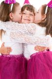 Маленькие девочки Стоковое Изображение