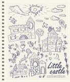 Маленькие замки Стоковое Изображение