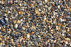 Маленькие камни на пляже Стоковая Фотография RF