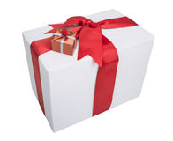 Маленькие коробки до большой коробки Стоковое Фото