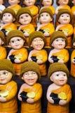 Маленькие куклы монаха Стоковые Фотографии RF